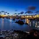 The Night is Blue... by buddybetsy