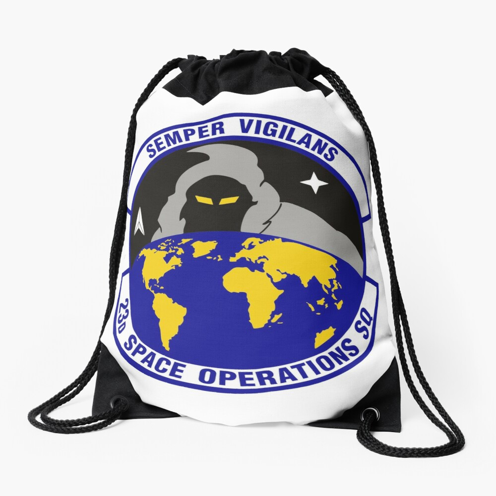 Model 90 - 23th Space Operations Drawstring Bag