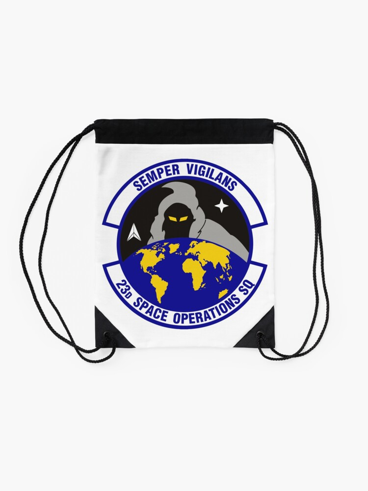 Alternate view of Model 90 - 23th Space Operations Drawstring Bag