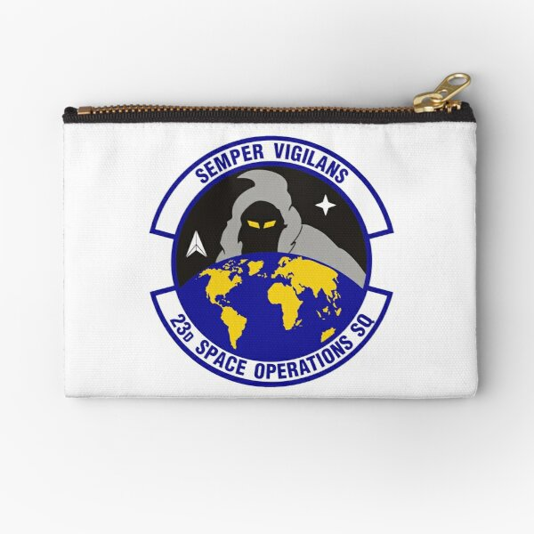 Model 90 - 23th Space Operations Zipper Pouch
