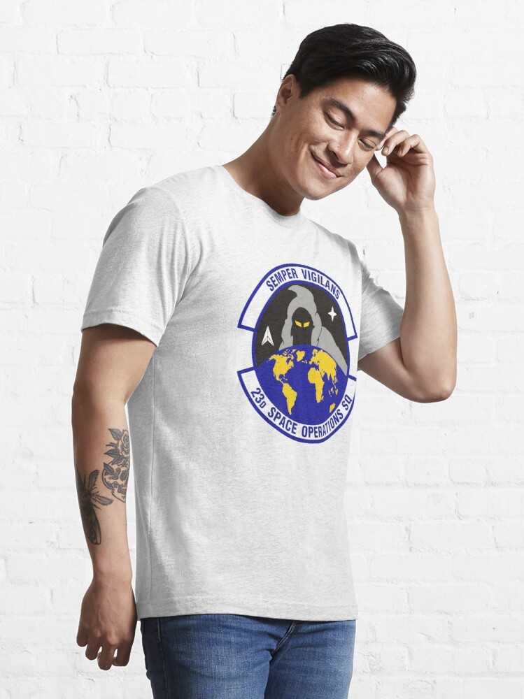 Alternate view of Model 90 - 23th Space Operations Essential T-Shirt