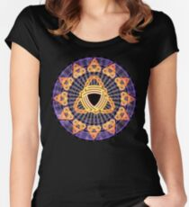 Triskelis Women's Fitted Scoop T-Shirt