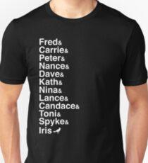 Portlandia Characters (Classic White) Unisex T-Shirt
