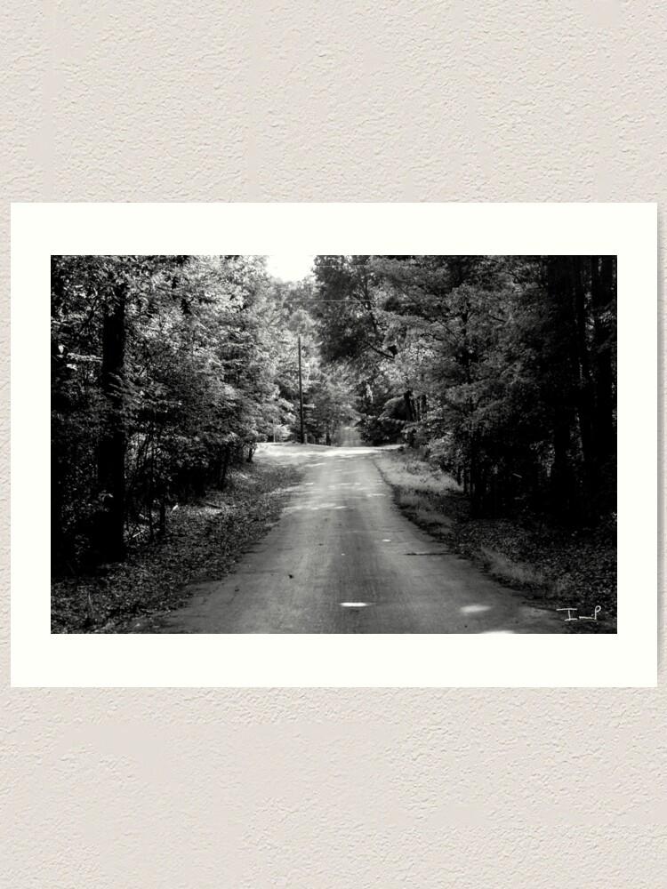 Alternate view of Louisiana Road Art Print