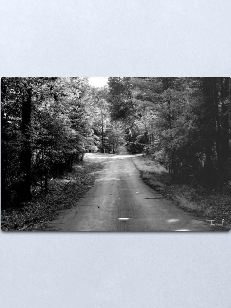 Alternate view of Louisiana Road Metal Print