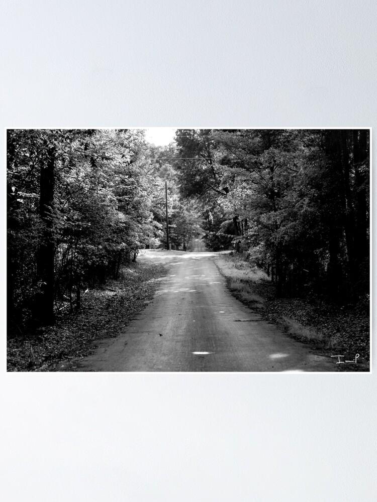 Alternate view of Louisiana Road Poster