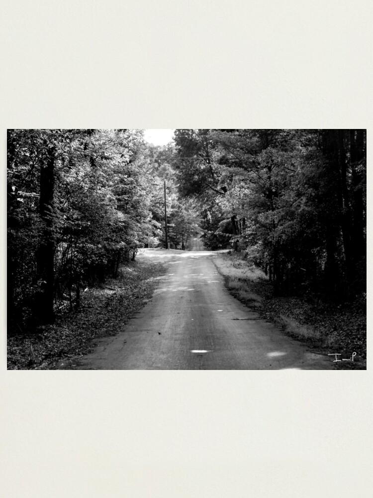 Alternate view of Louisiana Road Photographic Print