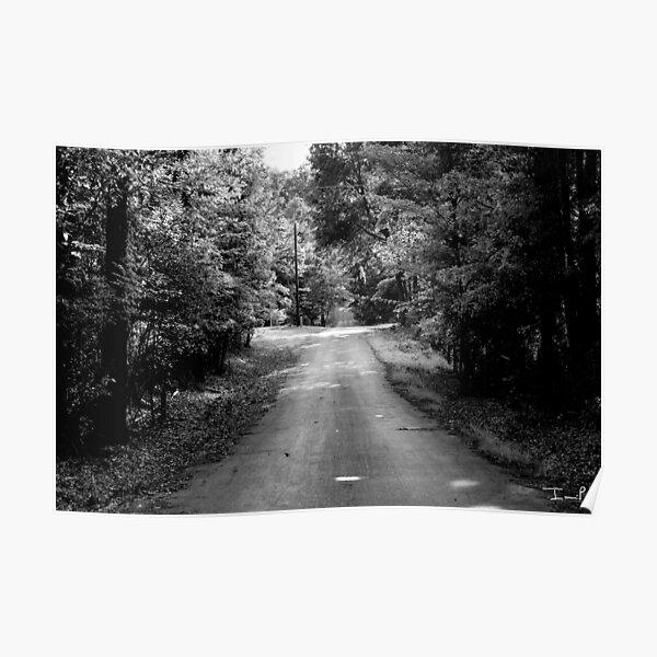 Louisiana Road Poster