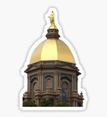 Notre Dame Dome Sticker