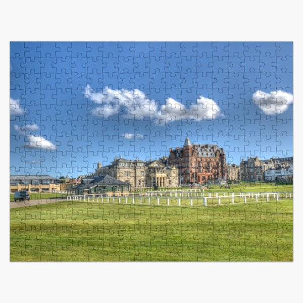 The Old Course St Andrews Scotland Jigsaw Puzzle