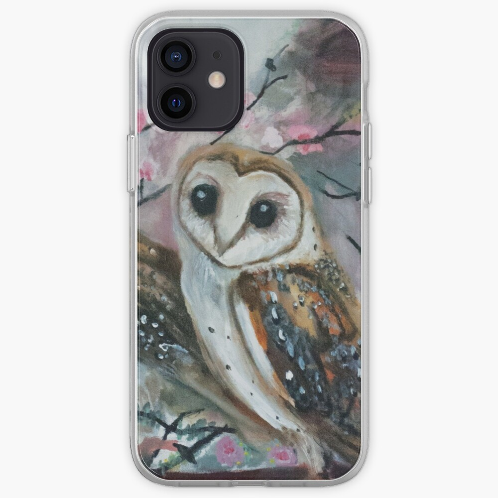 Barn Owls & Cherry Trees iPhone Case & Cover