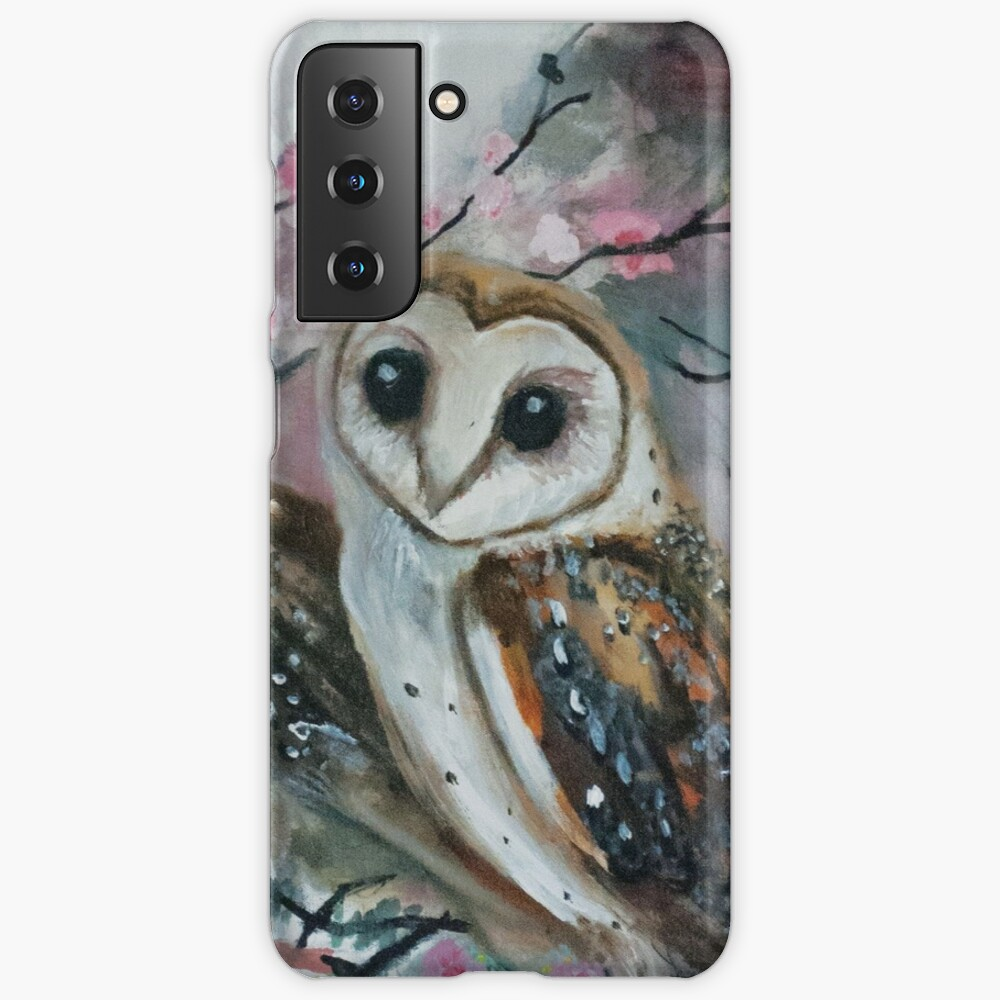 Barn Owls & Cherry Trees Case & Skin for Samsung Galaxy