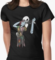 Jack And Sally Women's Fitted T-Shirt