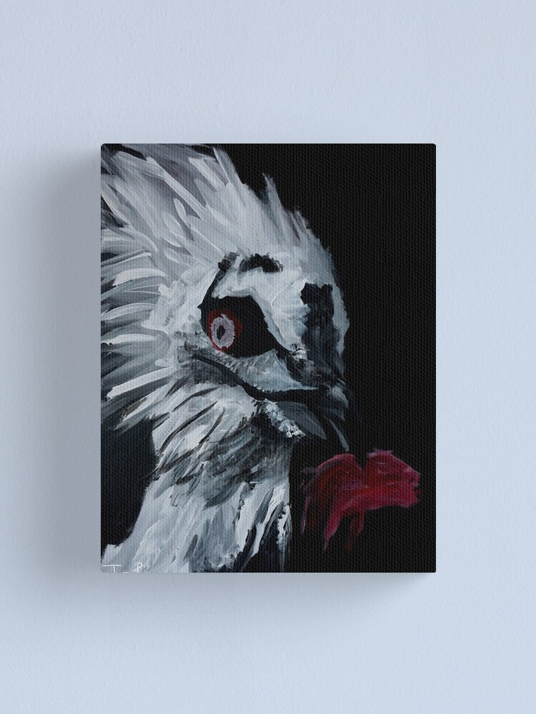 Alternate view of Vulture Eating Canvas Print