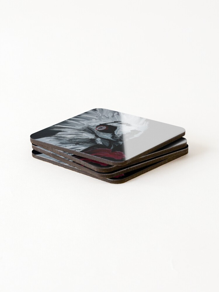 Alternate view of Vulture Eating Coasters (Set of 4)