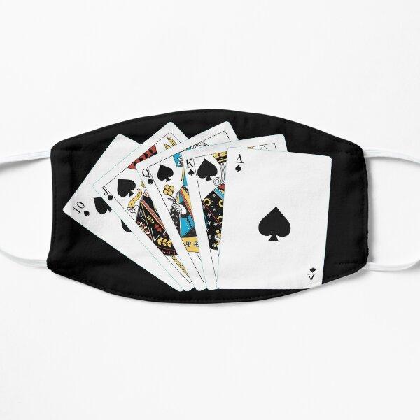 Royal Flush Pokerface Mask Flat Mask