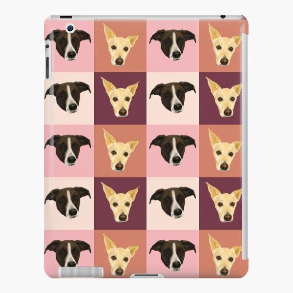 Sweet Dog Portraits - Modern Geometrical Style iPad Snap Case