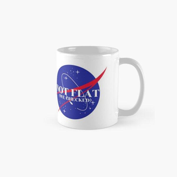 Not Flat, We Checked Classic Mug