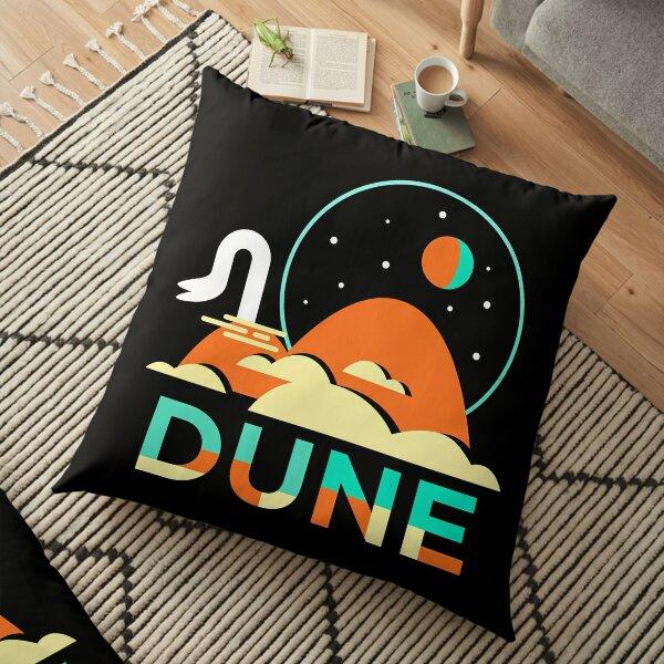 Dune Minimal illustration Floor Pillow