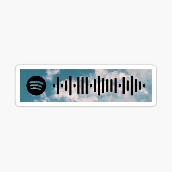 Lost in my Mind Spotify Code Sticker