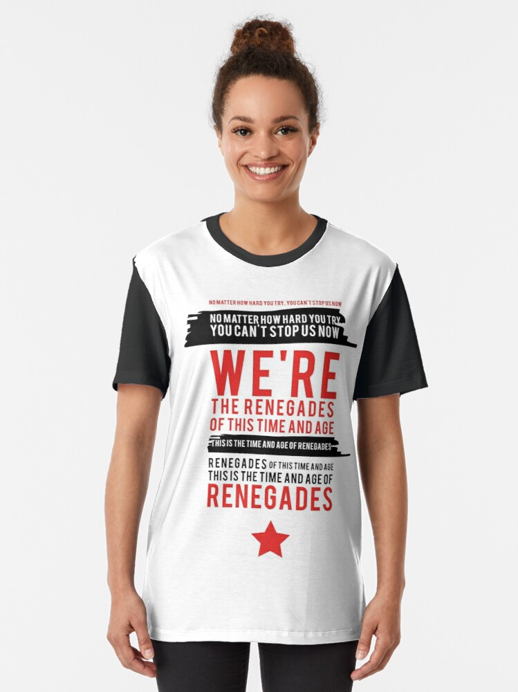 Alternate view of Renegades (Civil Rights) Graphic T-Shirt