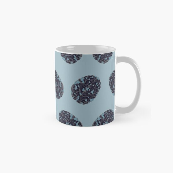 Forget Me Not Pattern Classic Mug