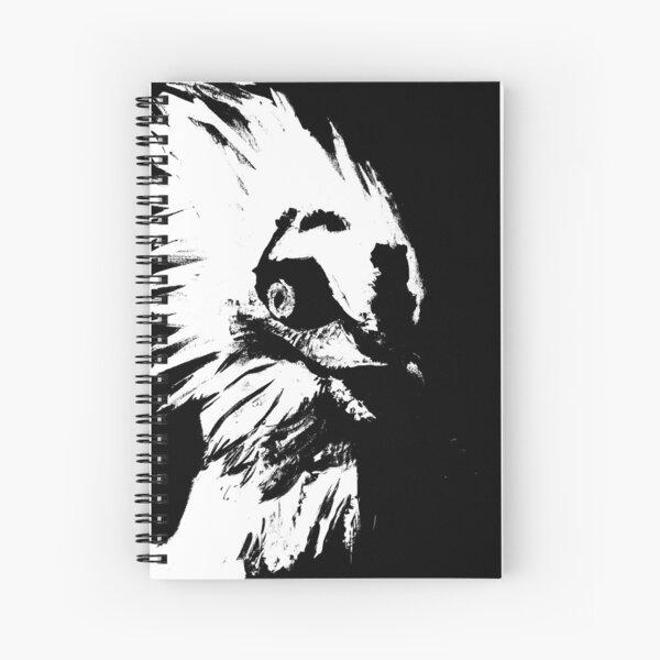 Glaring Vulture  Spiral Notebook