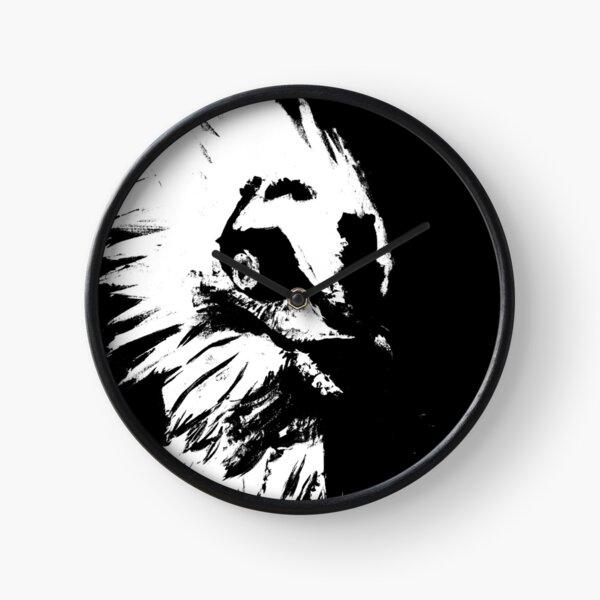 Glaring Vulture  Clock