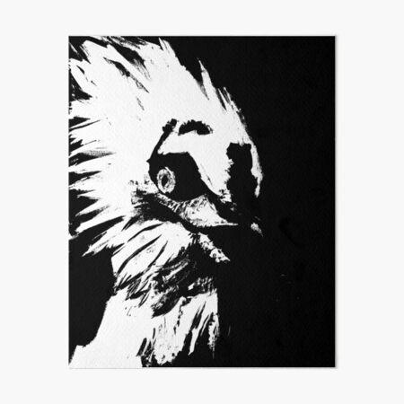 Glaring Vulture  Art Board Print