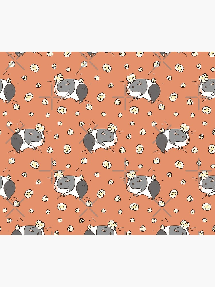 Guinea pig pattern, popcorning  by Miri-Noristudio