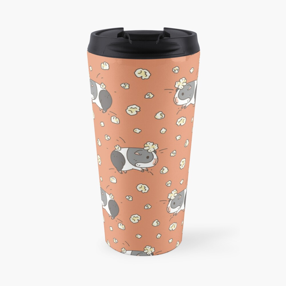Guinea pig pattern, popcorning  Travel Mug