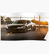 Audi R8 at Sunset Poster