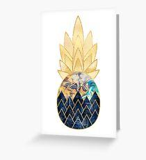 Precious Pineapple 1 Greeting Card