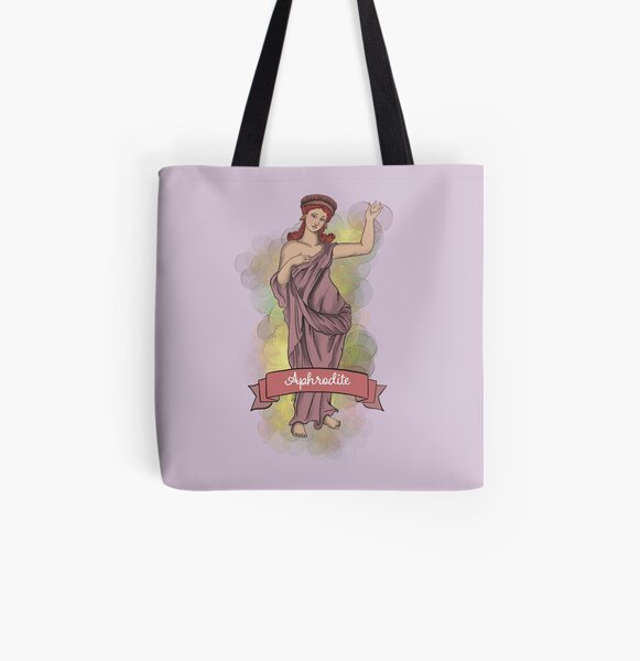Aphrodite in Pella  All Over Print Tote Bag