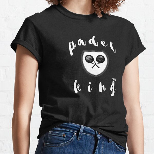 Rey del pádel Camiseta clásica