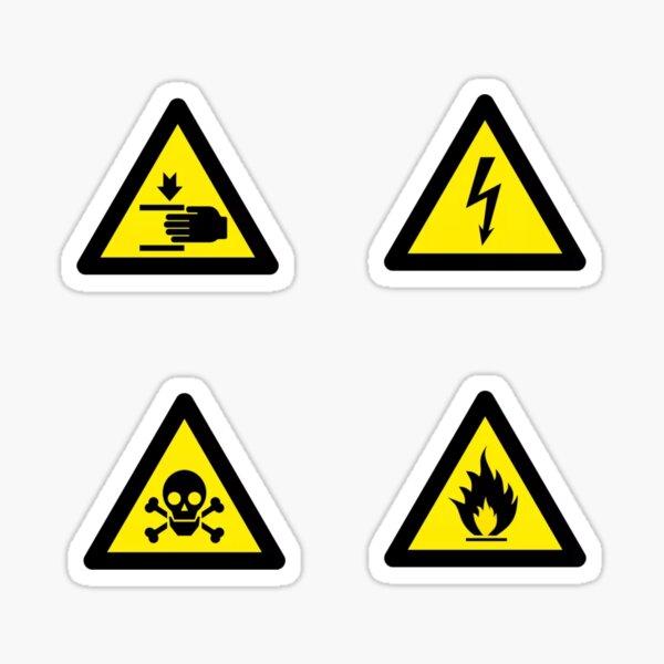 HSE signs  Sticker