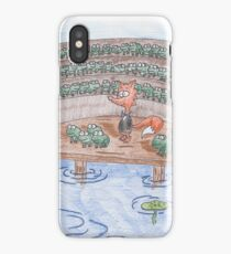 Reddy Fox and the Frog Chorus iPhone Case/Skin