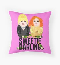 Sweetie Darling /Fabulous Realness 2.0 Throw Pillow