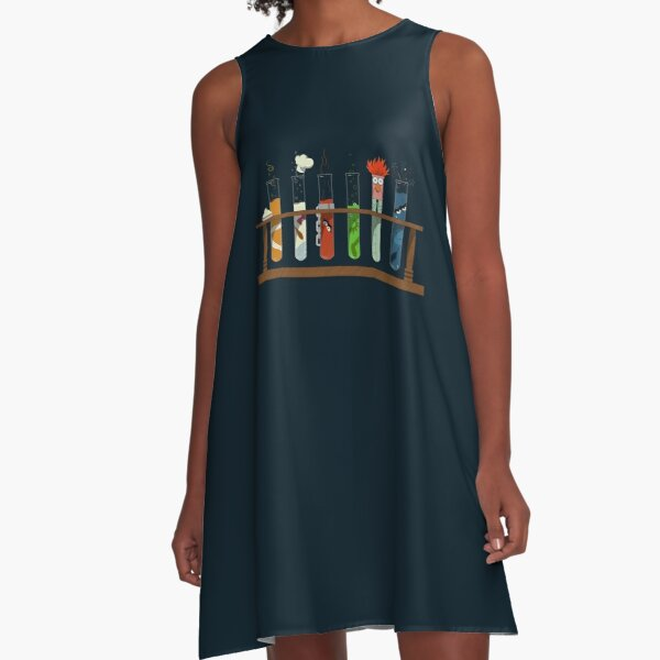Muppet Science - Chemistry  A-Line Dress