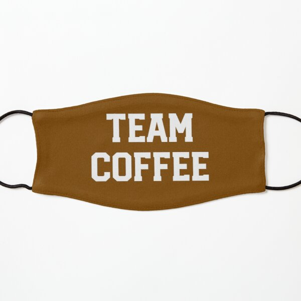 Barista Gift - Team Coffee Funny Present Kids Mask