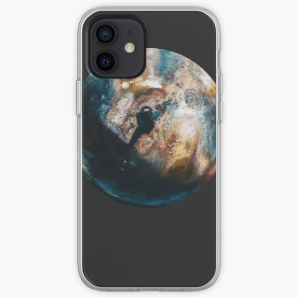Is there anybody out there? Grey iPhone Soft Case