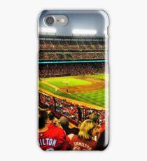 Texas Rangers baseball. iPhone Case/Skin