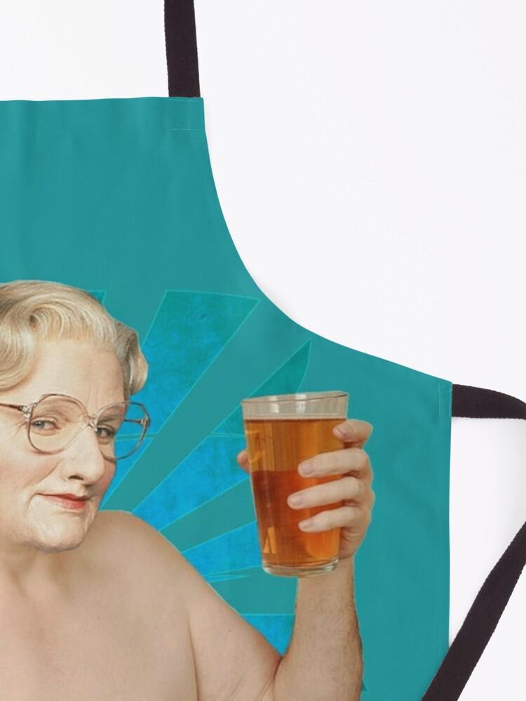 Alternate view of Mrs Doubtfire - Robin Williams Apron