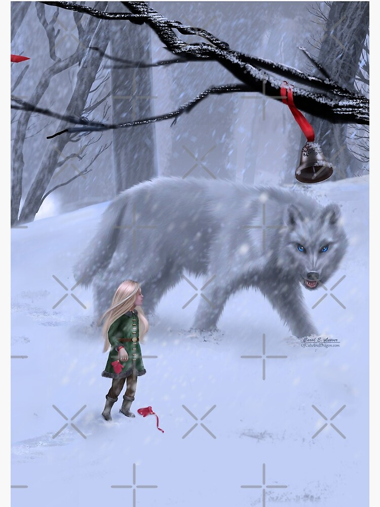 Holiday Winter Wolf by leever