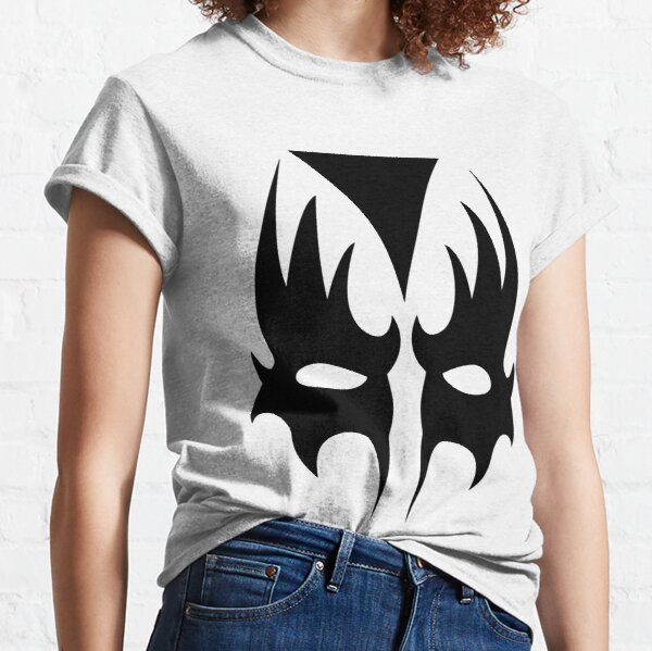 Demon Eyes Face Mask  Classic T-Shirt
