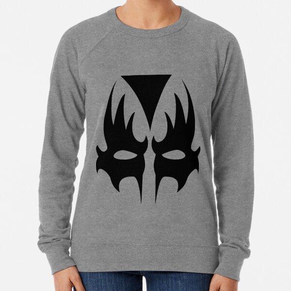 Demon Eyes Face Mask  Lightweight Sweatshirt
