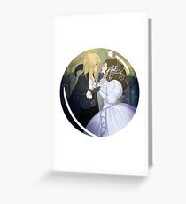As the World Falls Down. Greeting Card