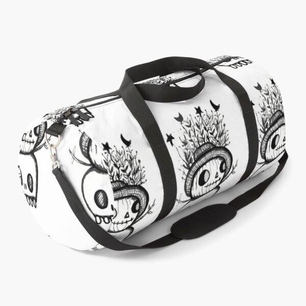 Pumpking and Skeleton Duffle Bag