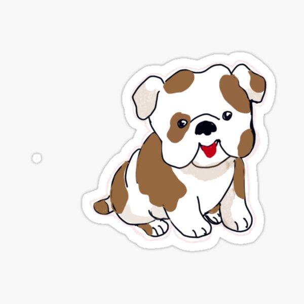 Puppy dog kisses Sticker