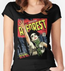 TFTS | Forest Women's Fitted Scoop T-Shirt